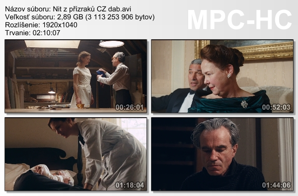 Re: Nit z přízraků / Phantom Thread (2017)